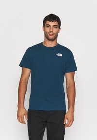 The North Face - REDBOX CELEBRATION TEE - T-shirt con stampa - monterey blue - 2