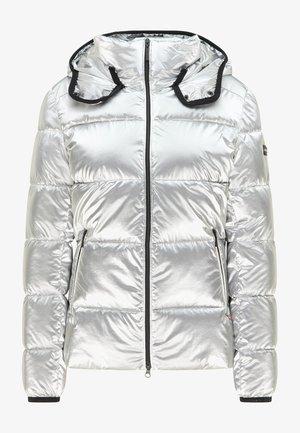 BERTA - Winter jacket - print crocodile greeny