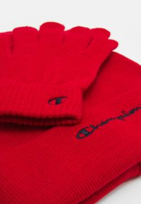 Champion - GIFT SET UNISEX - Beanie - red - 3
