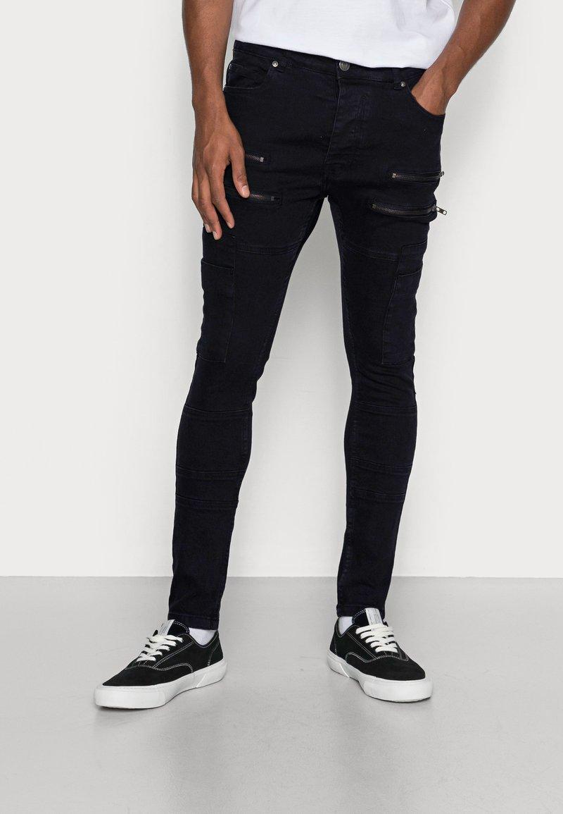 Brave Soul - LORTON - Jeans Skinny Fit - charcoal wash