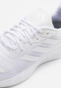 adidas Performance - DURAMO  - Zapatillas de running neutras -  white - 5