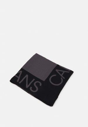 MONOGRAM SCARF - Foulard - black