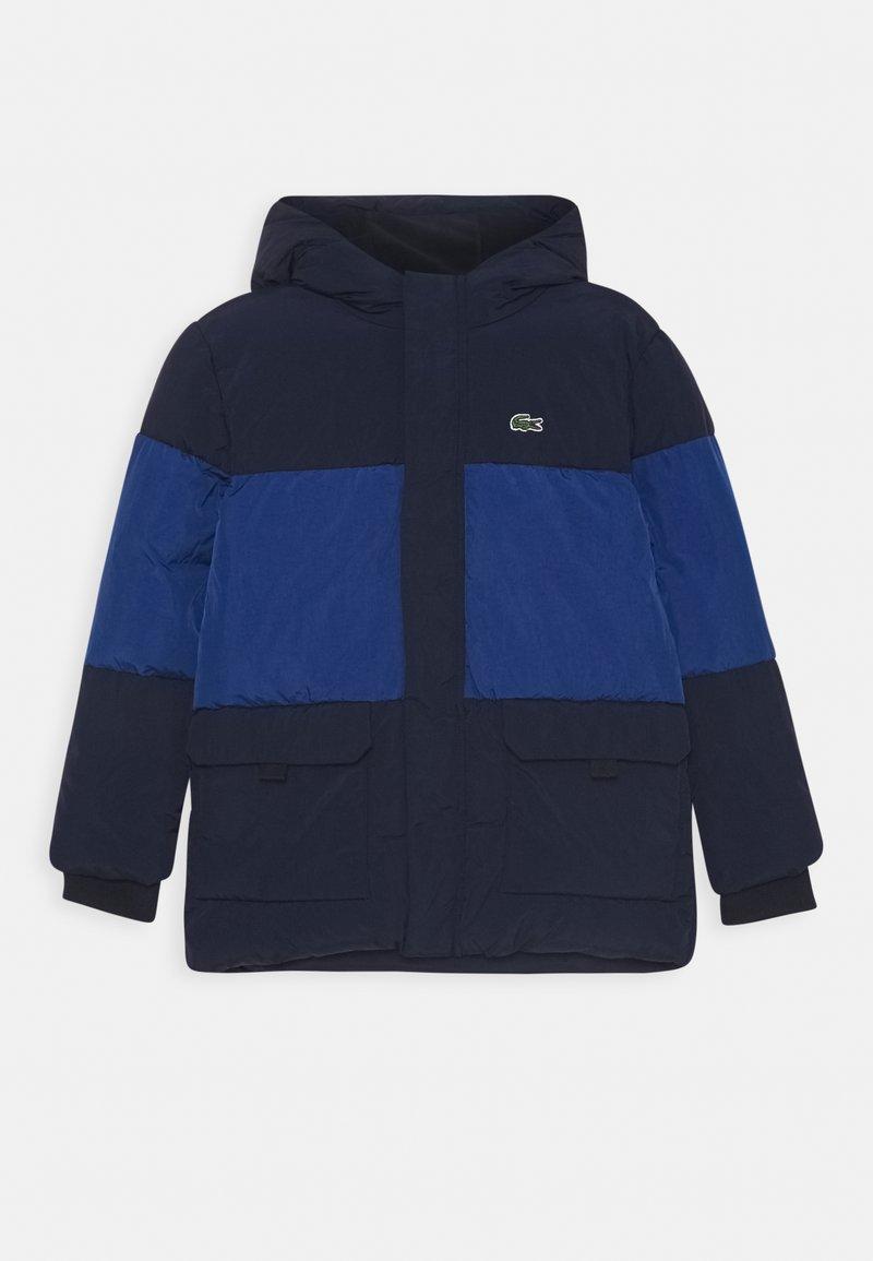 Lacoste - JACKET - Winter jacket - navy blue/globe