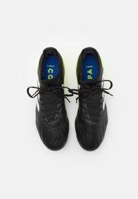 adidas Performance - COPA SENSE.3 FG - Moulded stud football boots - core black/footwear white/solar yellow - 3