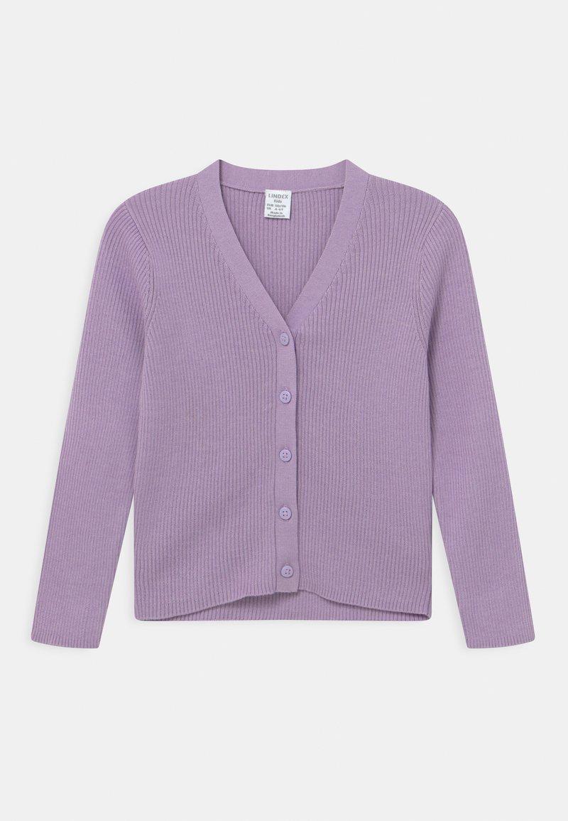 Lindex - MINI V-NECK - Kardigan - light lilac