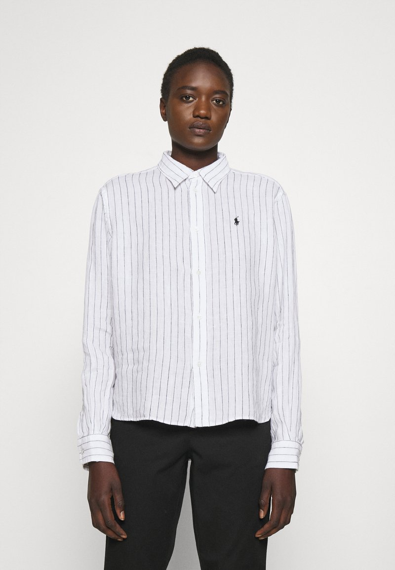 Polo Ralph Lauren - STRIPE - Button-down blouse - white/ polo