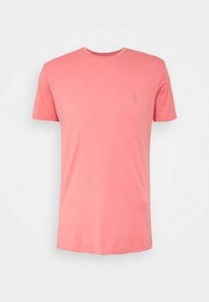TONIC CREW - Jednoduché triko - sorbet pink