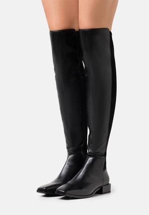 BIADIANA LONG BOOT - Kozačky nad kolena - black
