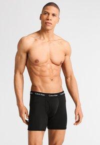 Calvin Klein Underwear - MODERN ESSENTIALS  - Panties - black - 0