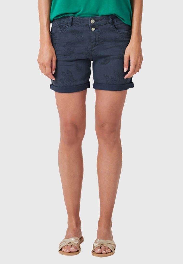 s.Oliver - Short en jean - blue