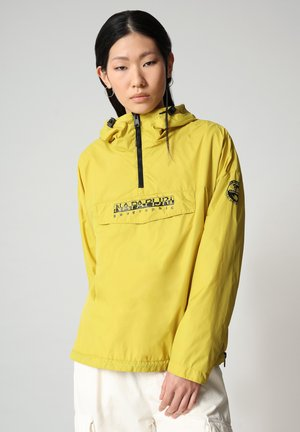 RAINFOREST CIRCULAR - Windbreaker - yellow moss