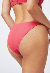 OYSHO - WITH STRAP DETAIL  - Bikini bottoms - coral - 2
