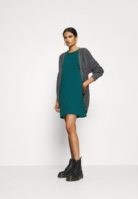 Even&Odd - Jersey dress - deep teal - 1