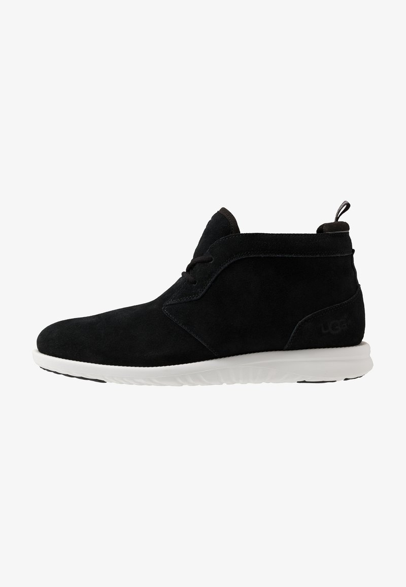 UGG - UNION CHUKKA - Casual lace-ups - black