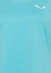 Salewa - ALPINE - T-shirts basic - maui blue - 2