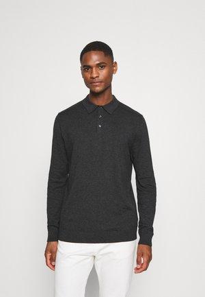 SLHBERG - Polo shirt - antracit
