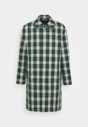 Classic coat - green/multi