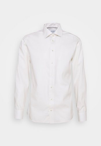 SLIMOFF FINE DOTTED WEAVE SHIRT - Formal shirt - offwhite