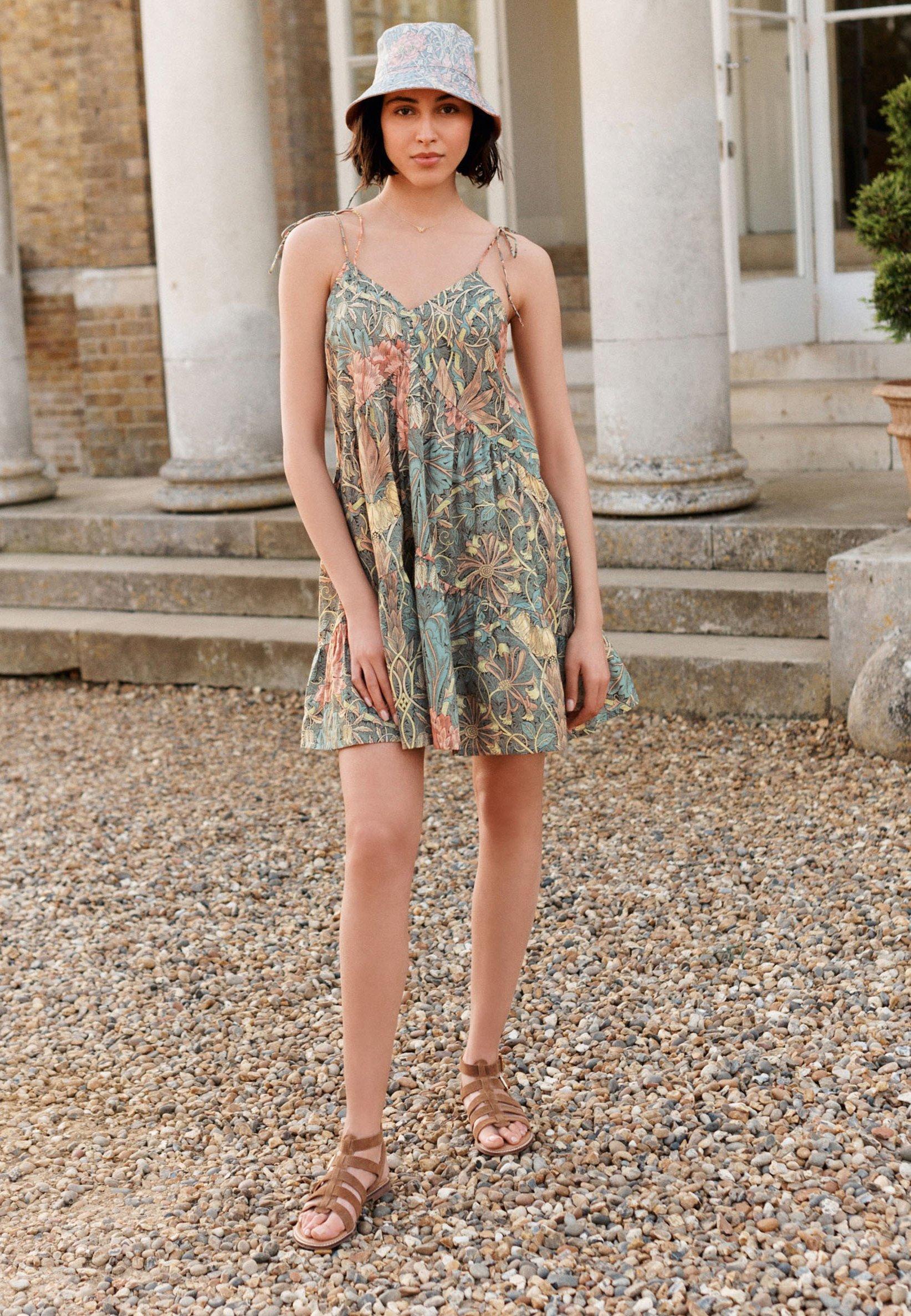Mujer CO TIE SHOULDER SWING - Vestido informal