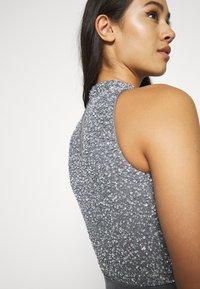 Lace & Beads - LIZA MAXI - Společenské šaty - charcoal grey - 5