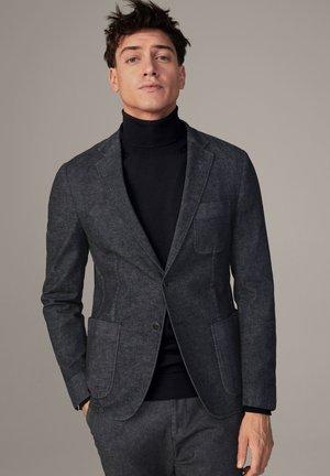 SAKKO ADWYN - Blazer jacket - schwarz meliert