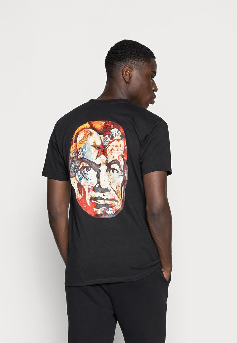 Obey Clothing - BIG BROTHER - Printtipaita - black