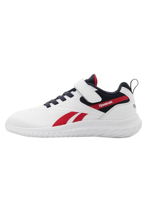 RUSH RUNNER 3.0 UNISEX - Zapatillas de running neutras - white/night navy/vector red