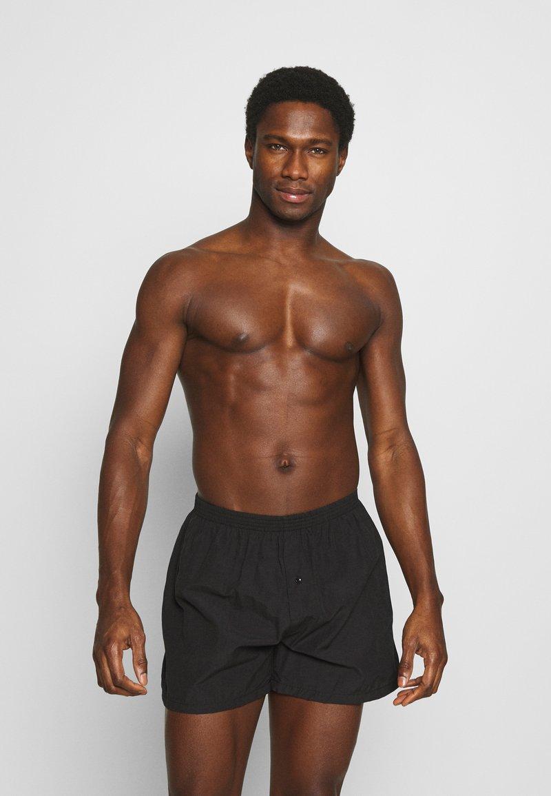 Pier One - 5 PACK - Boxershorts - black
