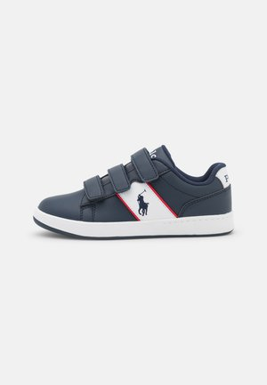 OAKVIEW II - Sneakers basse - navy smooth/white/red