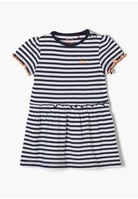 s.Oliver - Jersey dress - white stripes - 2