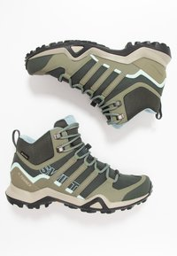 adidas Performance - TERREX SWIFT R2 MID GORE-TEX - Hikingschuh - legend erath/legend green/ash grey - 1