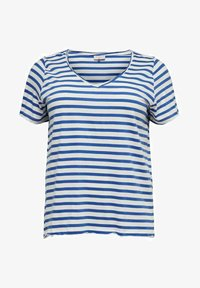 ONLY Carmakoma - CURVY - Print T-shirt - cloud dancer - 0