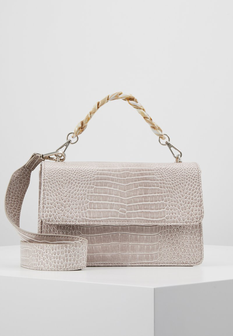 Becksöndergaard - BRIGHT MAYA BAG - Sac bandoulière - light grey