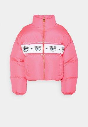 MAXILOGOMANIA OUTWEAR - Down jacket - fluorescent pink