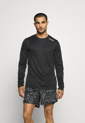 CORE TEE - Long sleeved top - black