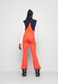 O'Neill - ORIGINALS BIB PANTS - Pantalon de ski - fiery coral - 2