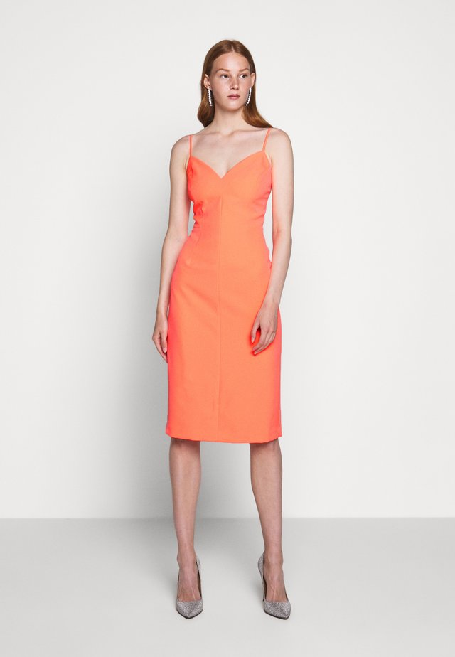 CADY SANDRA MIDI DRESS - Shift dress - grapefruit
