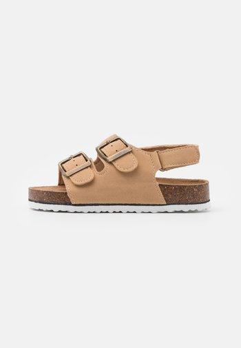 THEO UNISEX - Sandals - stone