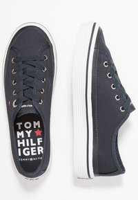 Tommy Hilfiger - CORPORATE FLATFORM SNEAKER - Trainers - midnight - 3