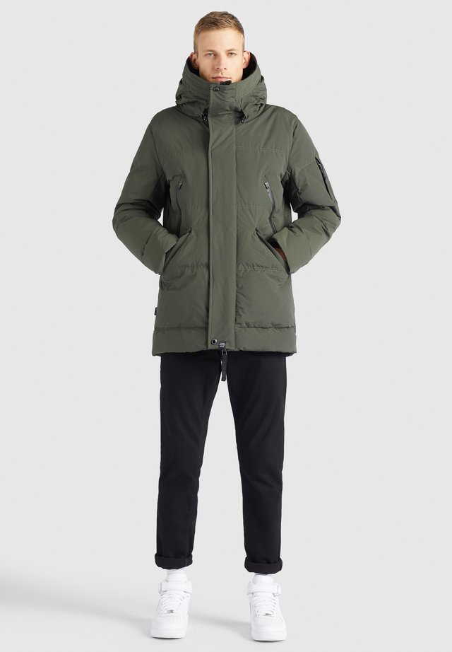 ESPEN - Winterjacke - dunkelgrün