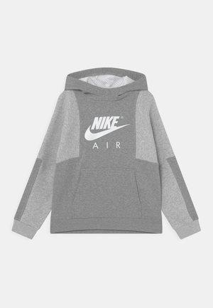 AIR - Mikina - dark grey heather/grey heather/white
