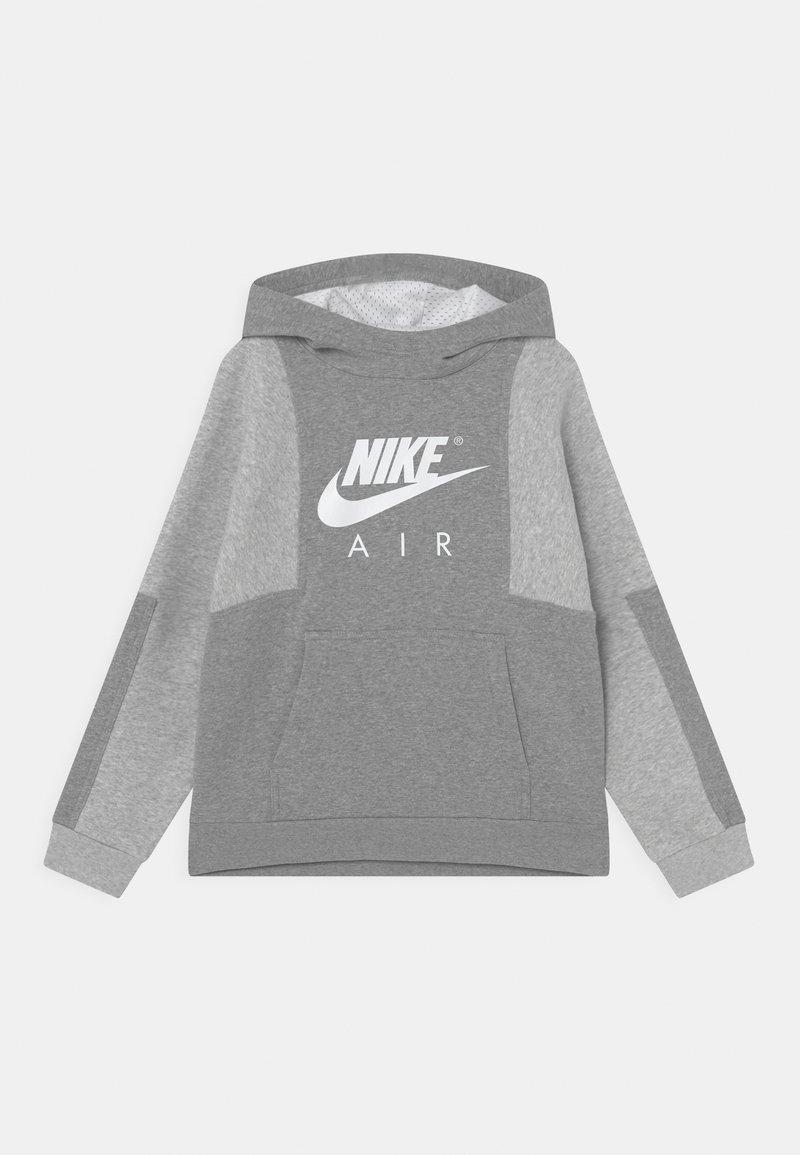 Nike Sportswear - AIR - Mikina - dark grey heather/grey heather/white