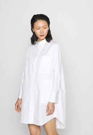SHIRT DRESS - Shirt dress - white