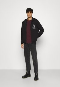 Armani Exchange - Zip-up hoodie - black - 1