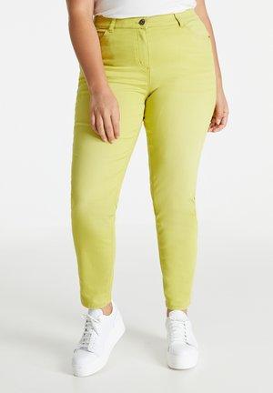 Slim fit jeans - citronella