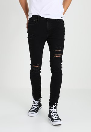 JJILIAM JJORIGINAL - Vaqueros pitillo - black denim