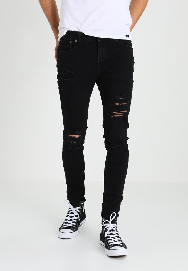 JJILIAM JJORIGINAL - Jeans Skinny Fit - black denim