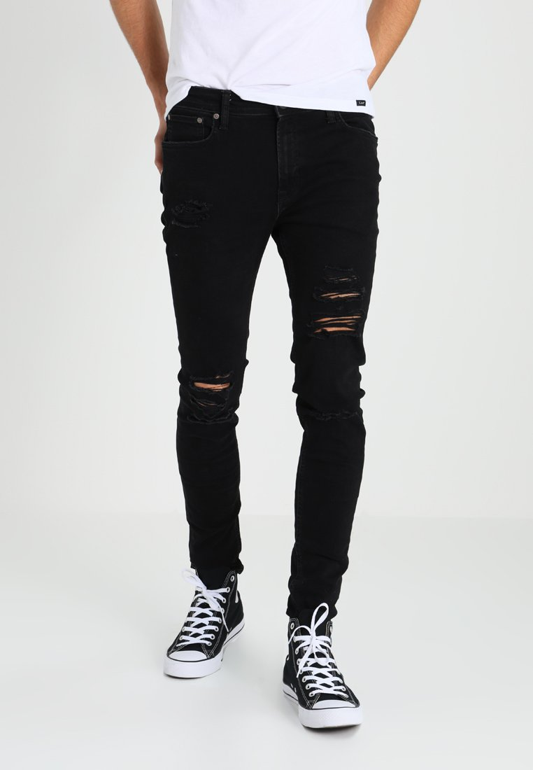 Jack & Jones - JJILIAM JJORIGINAL - Skinny-Farkut - black denim