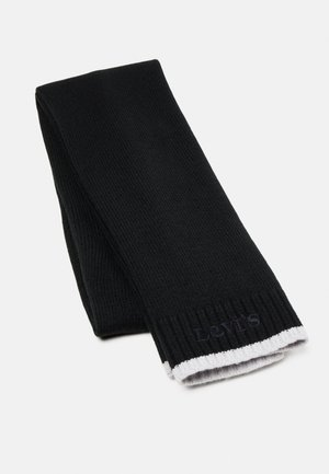 MODERN VINTAGE LOGO SCARF - Šátek - regular black
