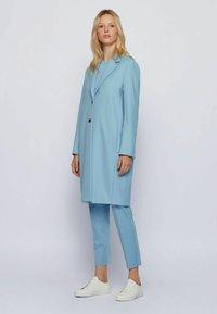 BOSS - Classic coat - light blue - 1